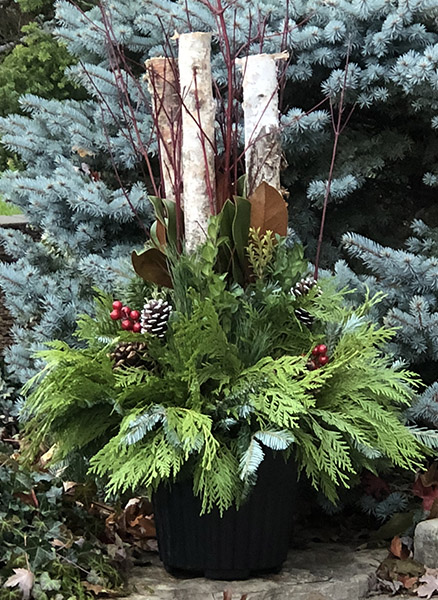 A thing of beauty Christmas urn