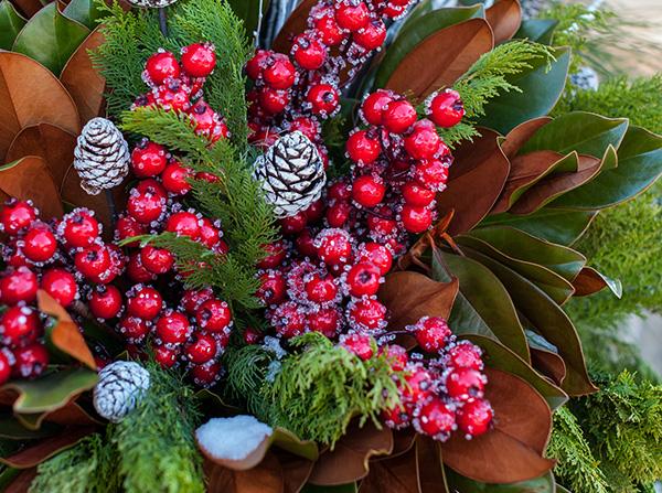 Festive Christmas Planter