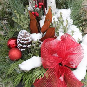 10″ Christmas Planter