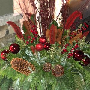 16″ Christmas Planter